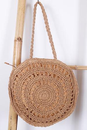 Eivissa Oceane Macrame Bag