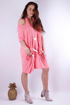 Fallon Flighty Fabric Dress Ibiza Sunrise