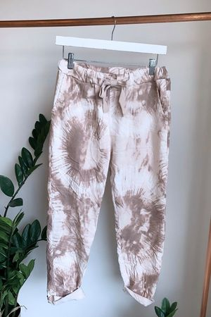 Fossil Crinkle Joggers Blush