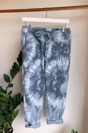 Fossil Crinkle Joggers Denim