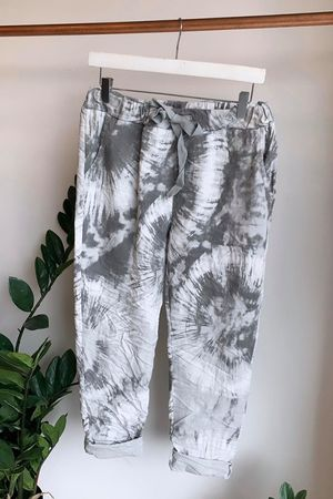 Fossil Crinkle Joggers Dove