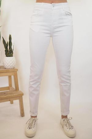 G Smack Mega Stretch Push Up Jeans White
