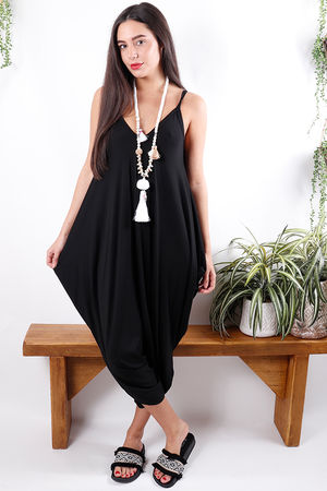 The Genie Jumpsuit Black