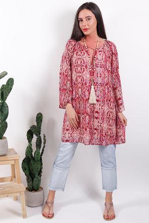 Glamorous Snake Tunic Dress