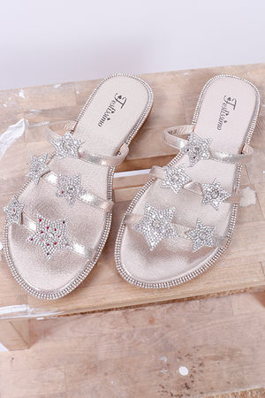 Inky Pinky Star Sandal Gold
