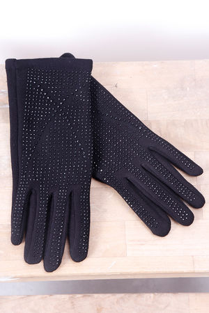 Jet Bling Glove Black