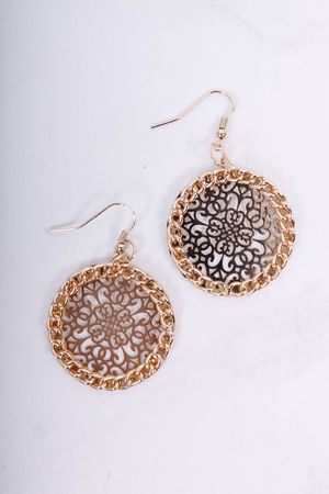 Katya Gold Filigree Earrings