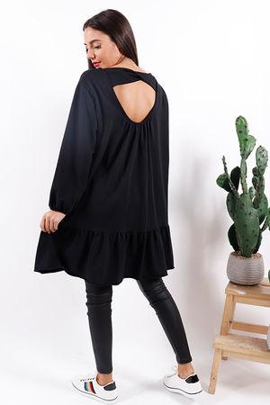 Key Largo Key Hole Dress Black