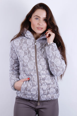 Lace Lightweight Puffer Jacket (In a Bag)