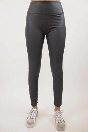 Leather Look Leggings Slate