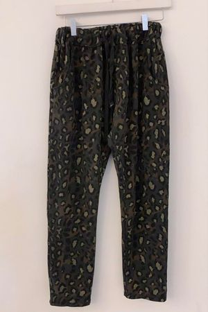 Leopard Relaxed Jogger