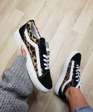 Leopard Flatform Skater