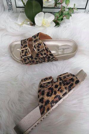 Leopard Stud Slider