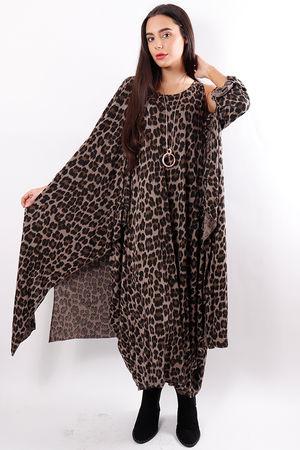 Leopard Two Piece Mocha