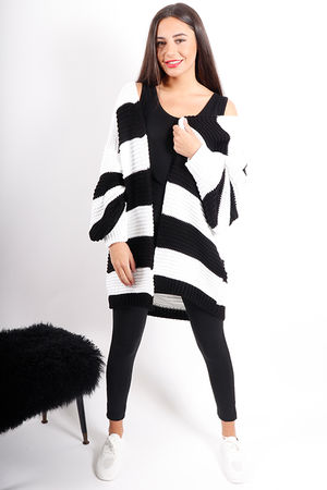 Loose Slouch Knit Black