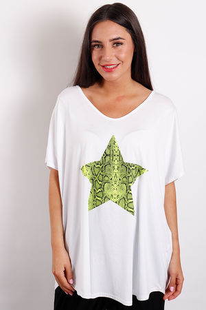 Love Trip Snake Star Tee Green