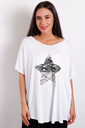 Love Trip Snake Star Tee Grey