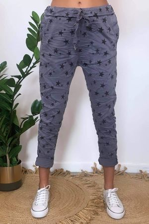 Lux All Star Crinkle Magic Jogger Slate