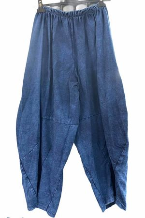 The Lux Cocoon Relaxed Pant Denim