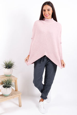 Made In Italy Archie Knit Baby Pink