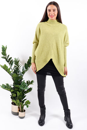 Made In Italy Archie Knit Lime