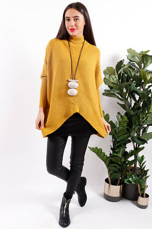 Made In Italy Archie Knit Mustard