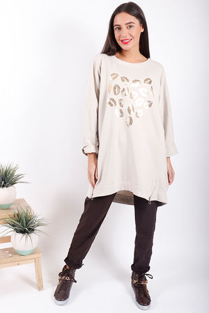 Made In Italy Oversized Lips Love Sweat Stone