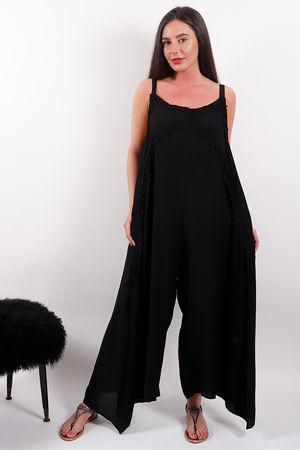 Malissa J Palazzo Jumpsuit Black