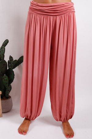 Malmo Balloon Pant Terracotta Rose