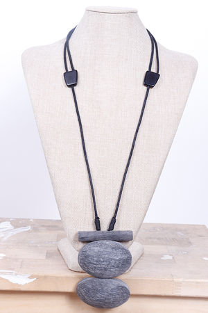 Malmo Chunky Necklace Slate