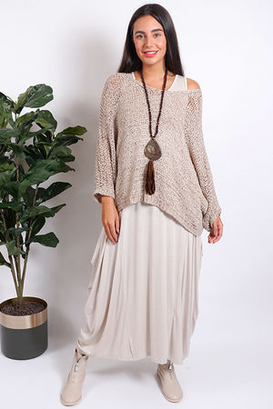 Malmo Textured Knit Oat