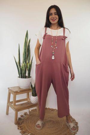 Mama Mia Dungarees Indian Pink