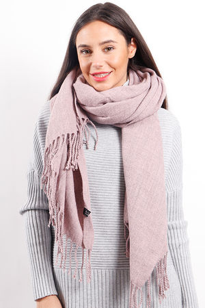 Melange Super Soft Scarf Dirty Lilac