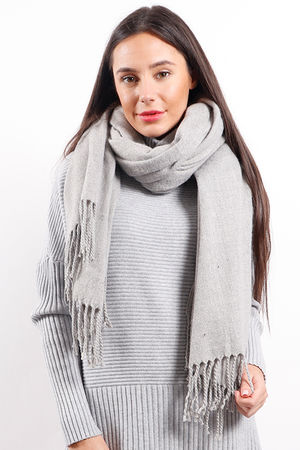 Melange Super Soft Scarf Dove