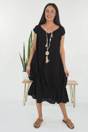 Mercer Aphrodite Dress Black