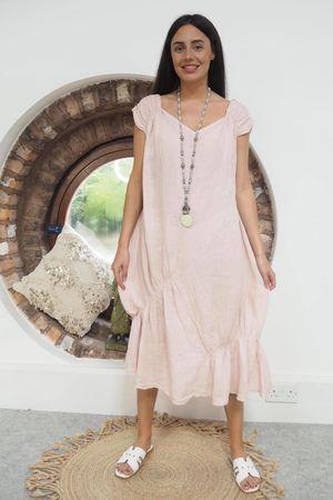 Mercer Aphrodite Dress Blush