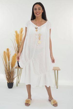 Mercer Aphrodite Dress White