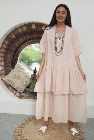 Mercer Athena Dress Blush