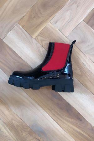Mercer Tred Boot Black & Red