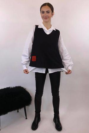 Mercer Two Piece Tank Shirty Black