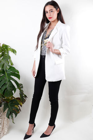 Miami Blazer White