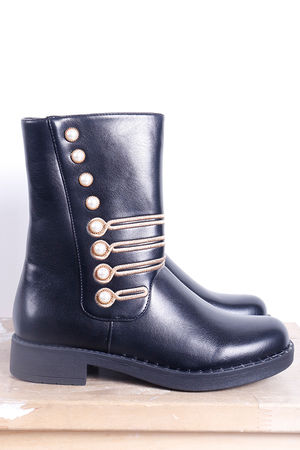 Military Boot Black