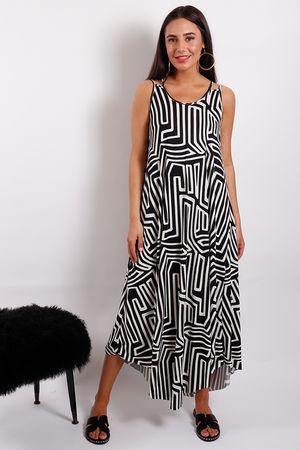 Monomaze Maxi Dress