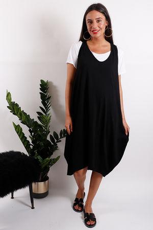 Monomaze Two Layer Cocoon Dress