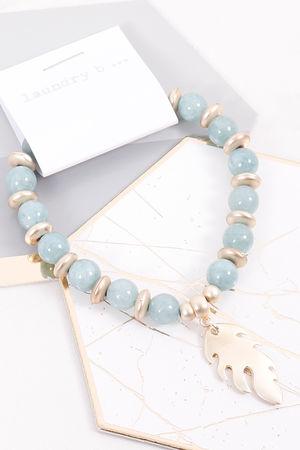 Mykonos Feather Bracelet