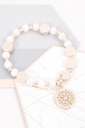 Mykonos Filigree Coin Bracelet