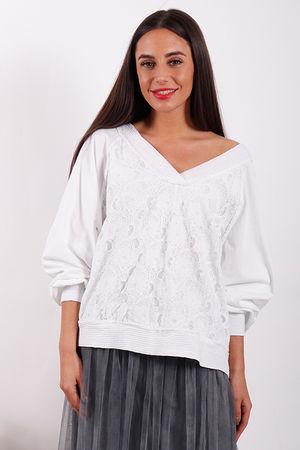 Namaste Love Lace Top White