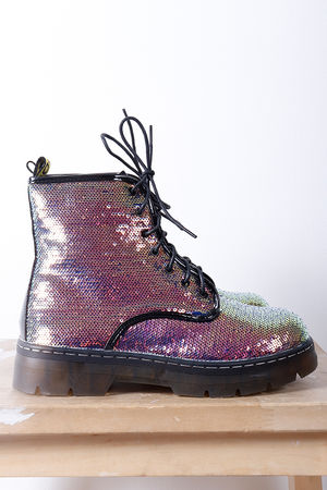 Oil Slick Boot