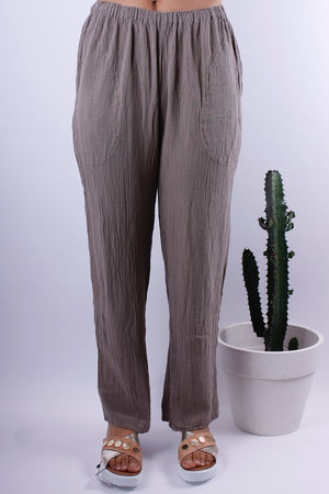 One Life Basic Stone Trousers
