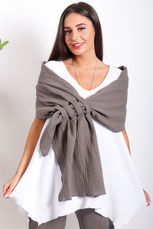 One Life Loop Wrap Taupe